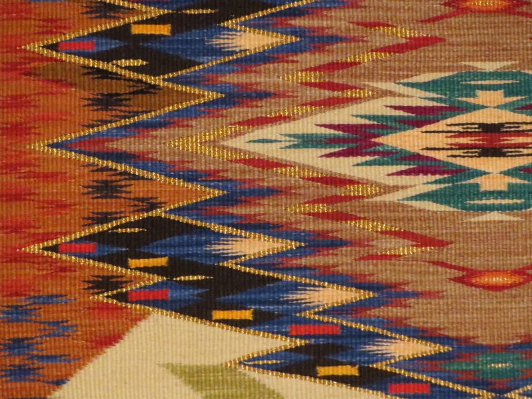 Irvin Trujillo, Saltillo Shroud, detail