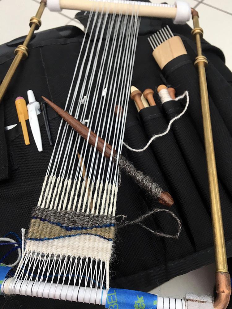 Travel weaving...