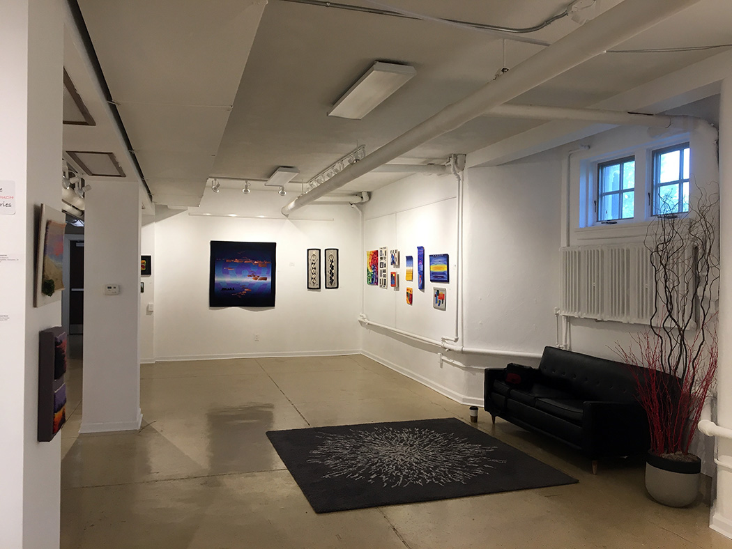 Webster Arts  Warp and Weft  tapestry show