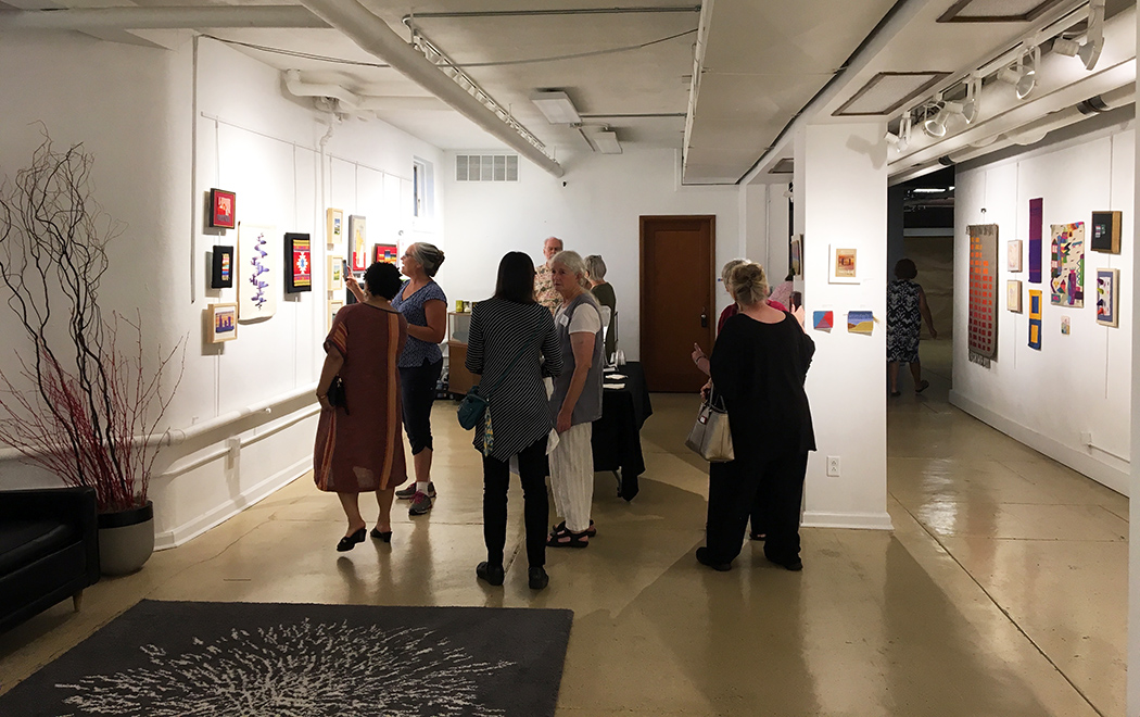 Warp and Weft  opening, just getting started! August 14, 2018