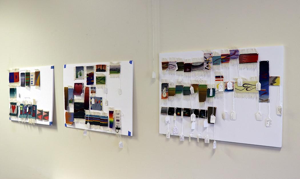 Rebecca Mezoff workshop samples