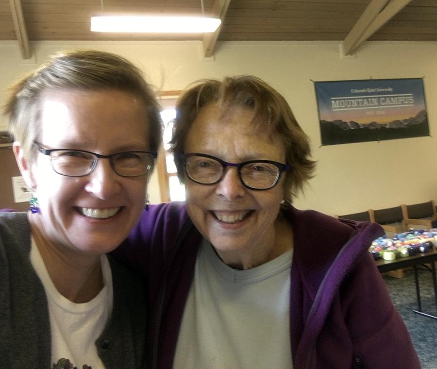 Rebecca and Linda