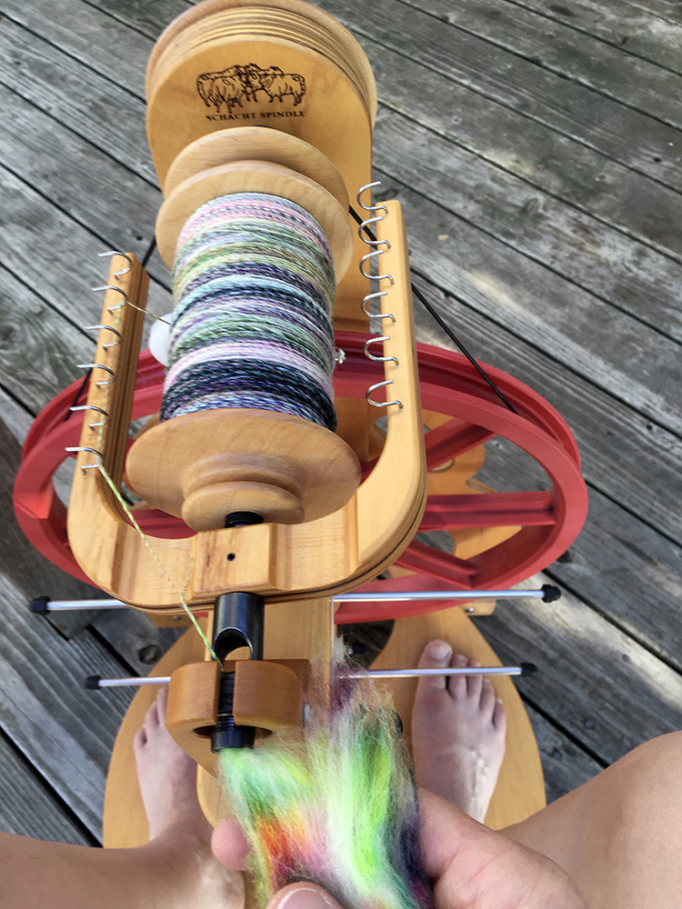 Apparently I did a lot of spinning