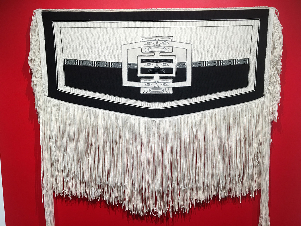 Jaad Kuujus (Meghann O'Brien), Sky Blanket, merino wool, cashmere, mountain goat wool
