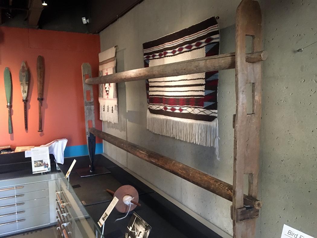 Coast Salish loom