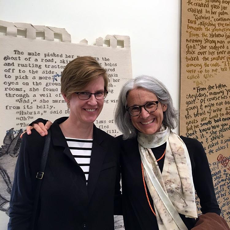 Rebecca Mezoff and Sarah Swett