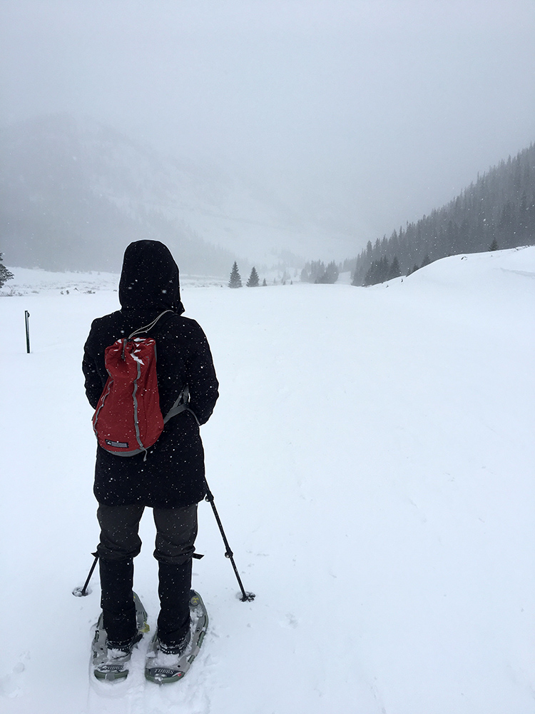New Years Eve Snowshoeing