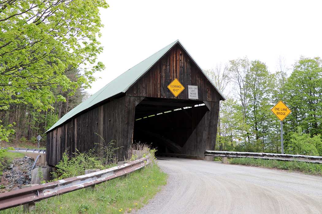 There are a lot of covered bridges in VT