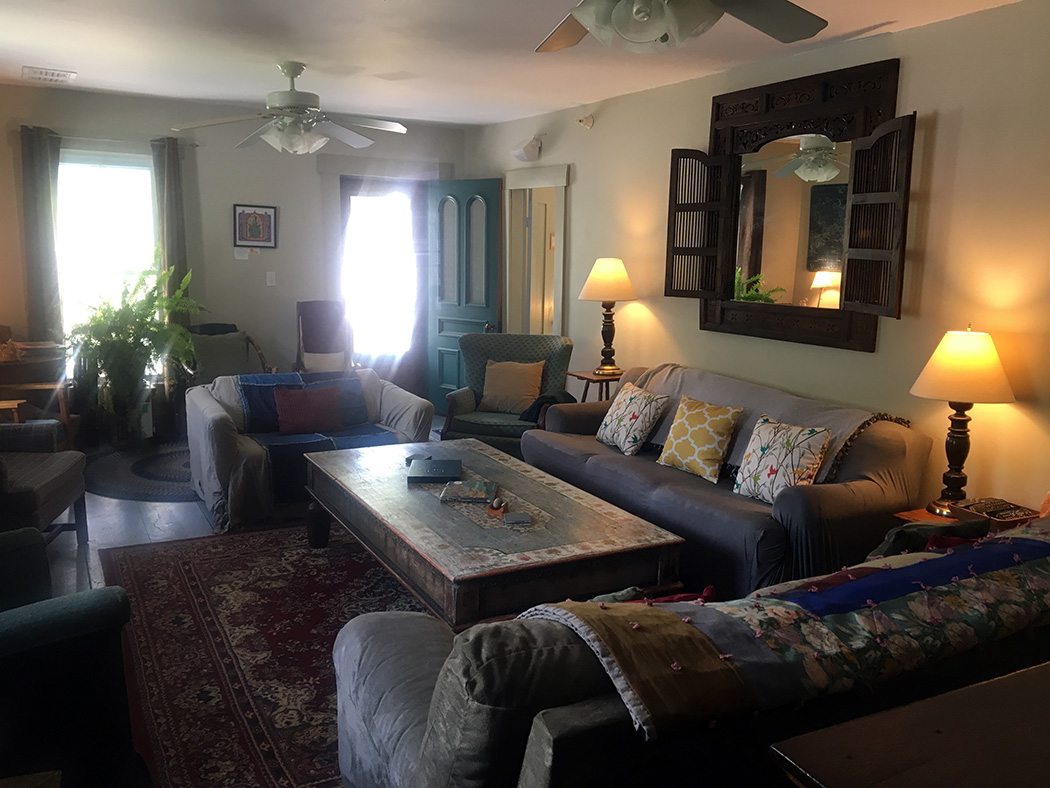 Second floor living room at Good Commons