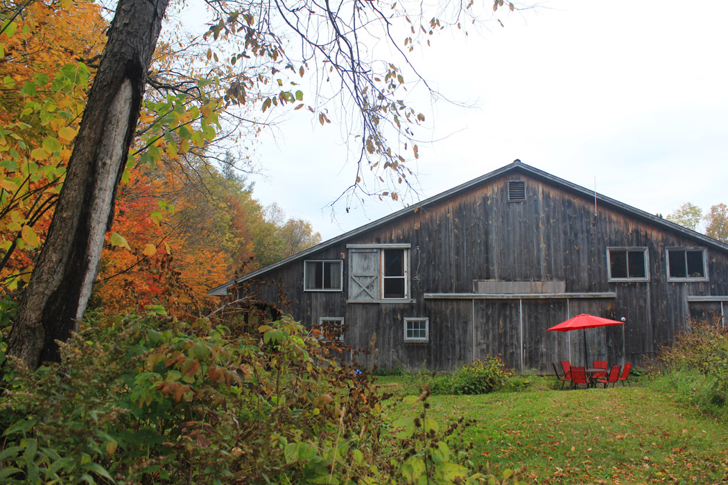 The barn apartment