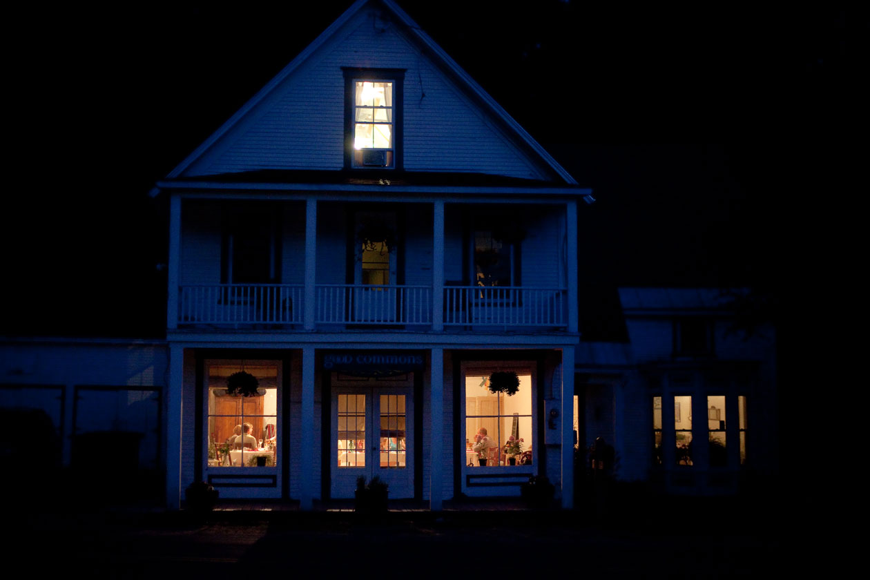 Good Commons after dark... a beautiful, warm, inviting place