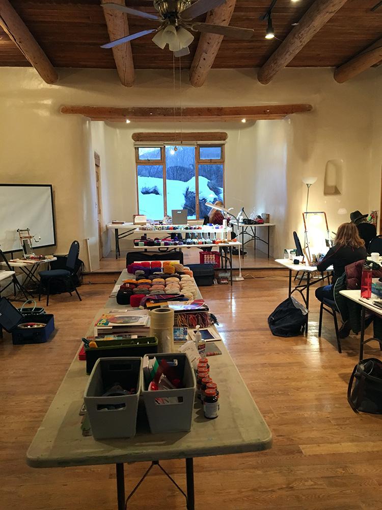 Workshop room in Juniper House