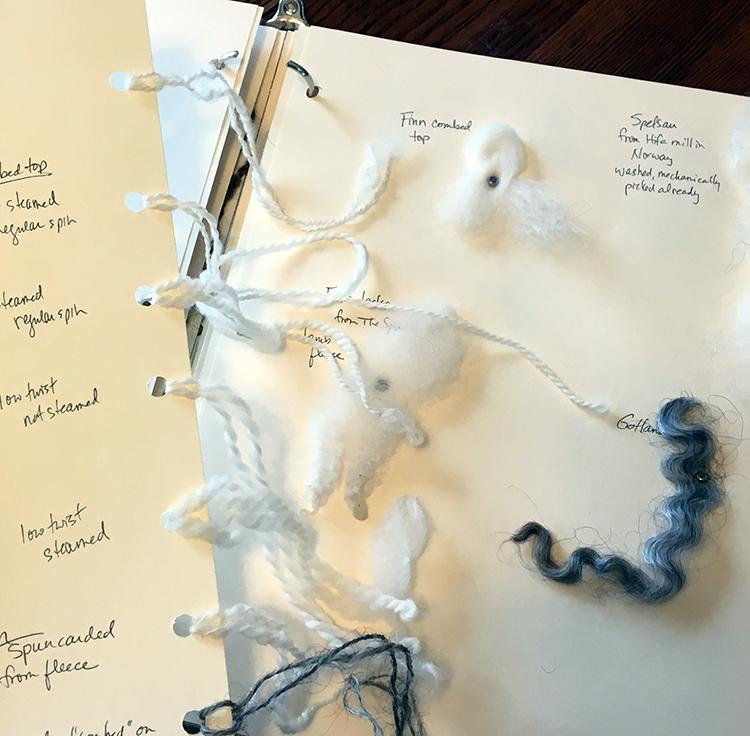 Rebecca's sample notebook