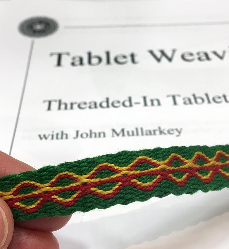 Tablet Weaving with John Mullarkey