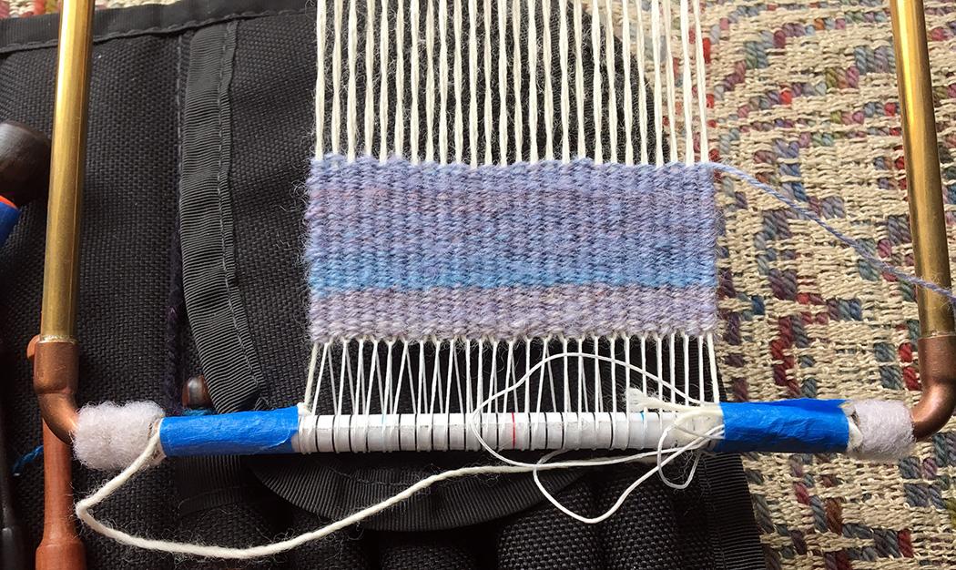 Rebecca Mezoff, four-selvedge tapestry weaving