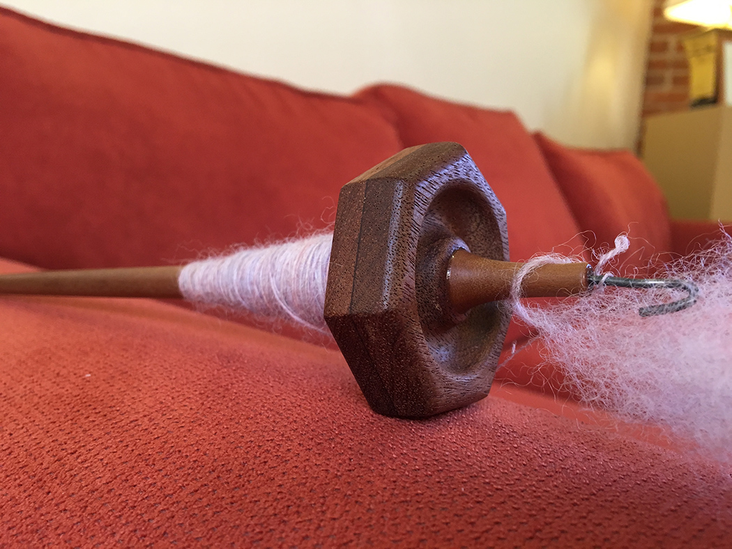 Hepty spindle by @henrycedwards. This spindle is FAST!