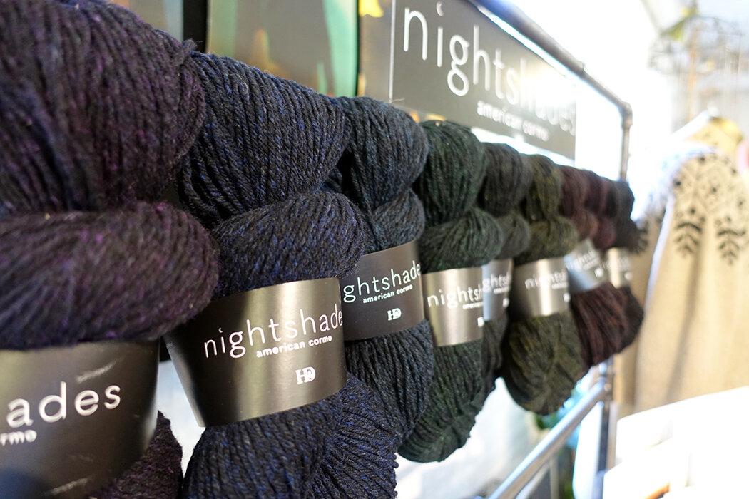 Nightshades yarn by Harrisville Designs