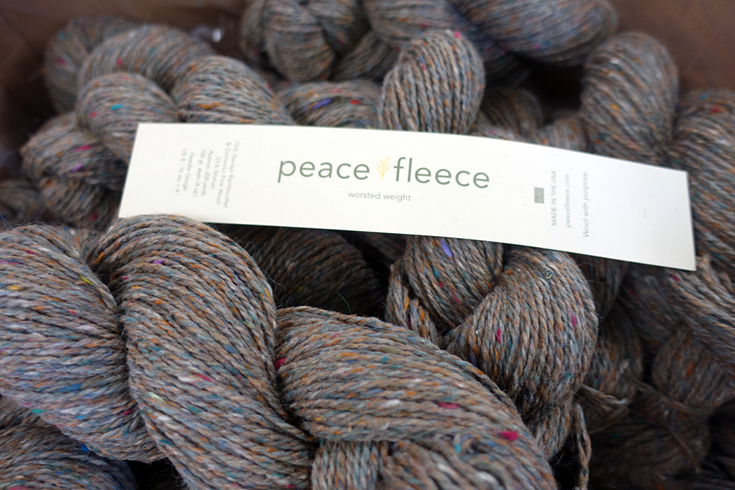 Peace Fleece, now made by Harrisville Designs, is designed to bring communities together.