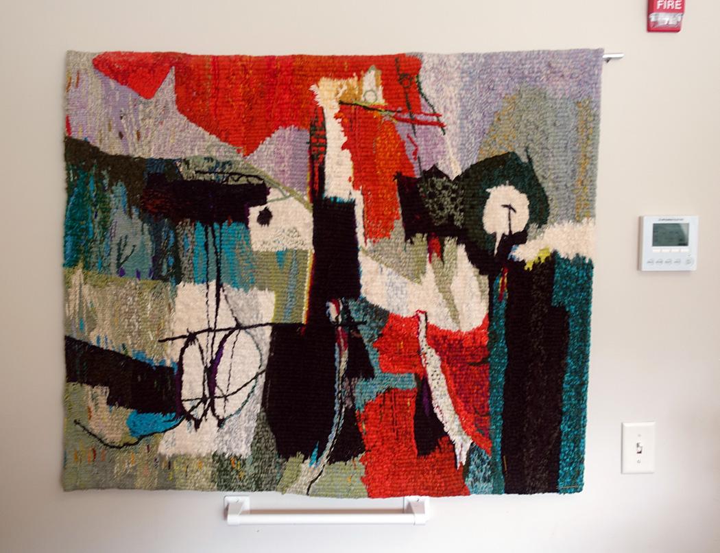 Marian Mezoff, tapestry