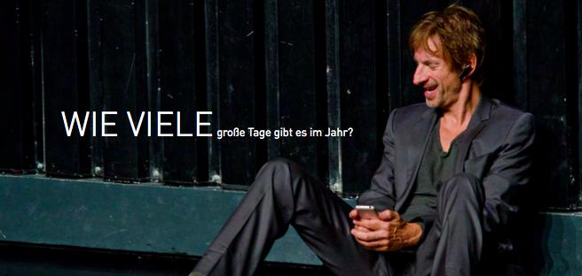 """Ingolf Lück in """"Seite Eins"""" - Ein Theaterstück für einen Mann und ein Smartphone von Johannes Kram"""