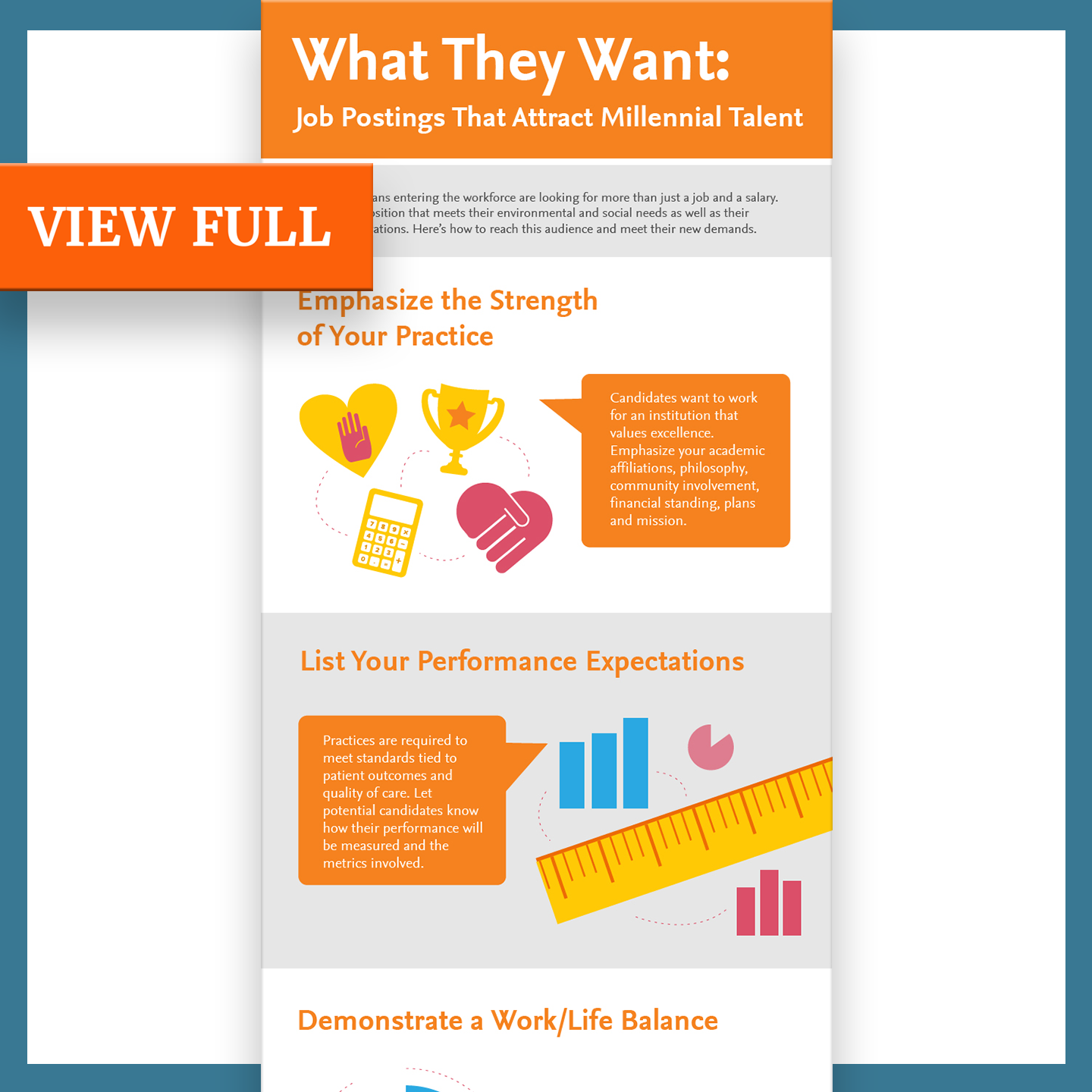 A staffing agency infographic from the portfolio of marketing writer Alexander Santo.