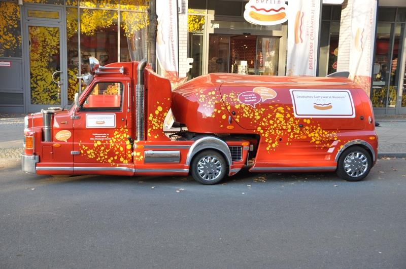 Currywurst truck