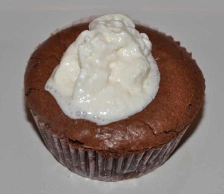 Chocolate Cardamom Lava Cakes