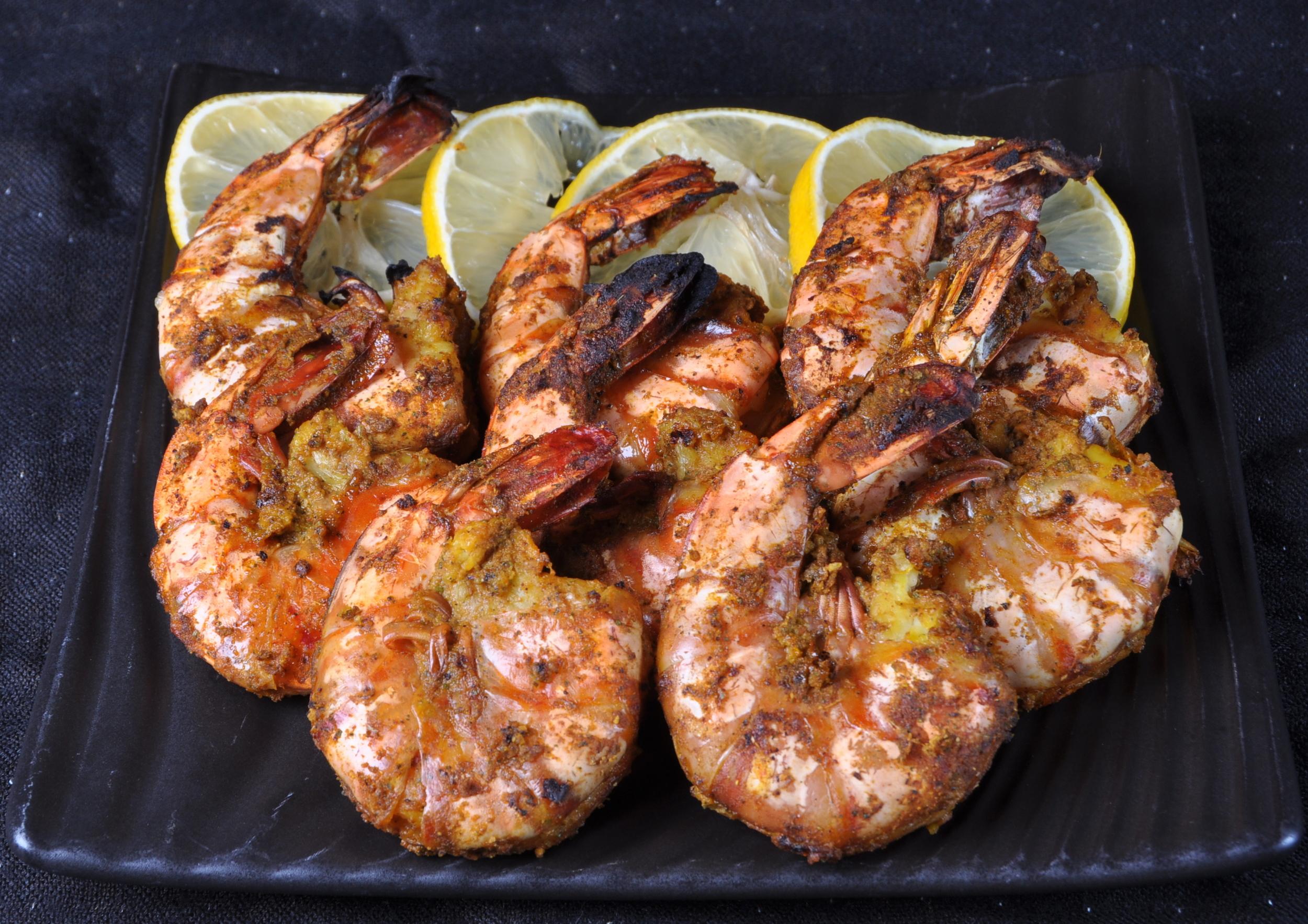 Jumbo Tandoori Shrimp