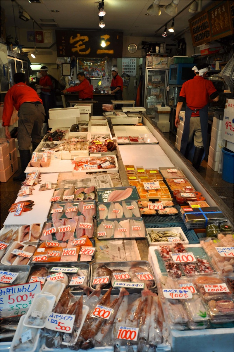 Tokyo, Tsukiji  Fish MArket - 01.jpg