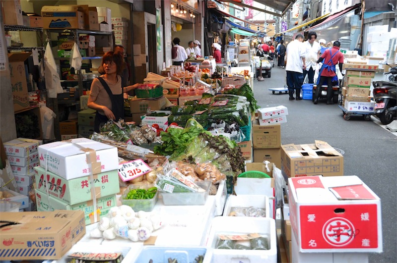 Tokyo, Tsukiji  Fish MArket - 04.jpg