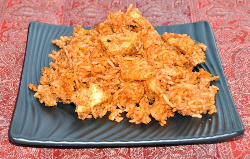 Butter Chicken Biryani