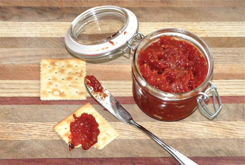 Tomato Jam With Whole Spices