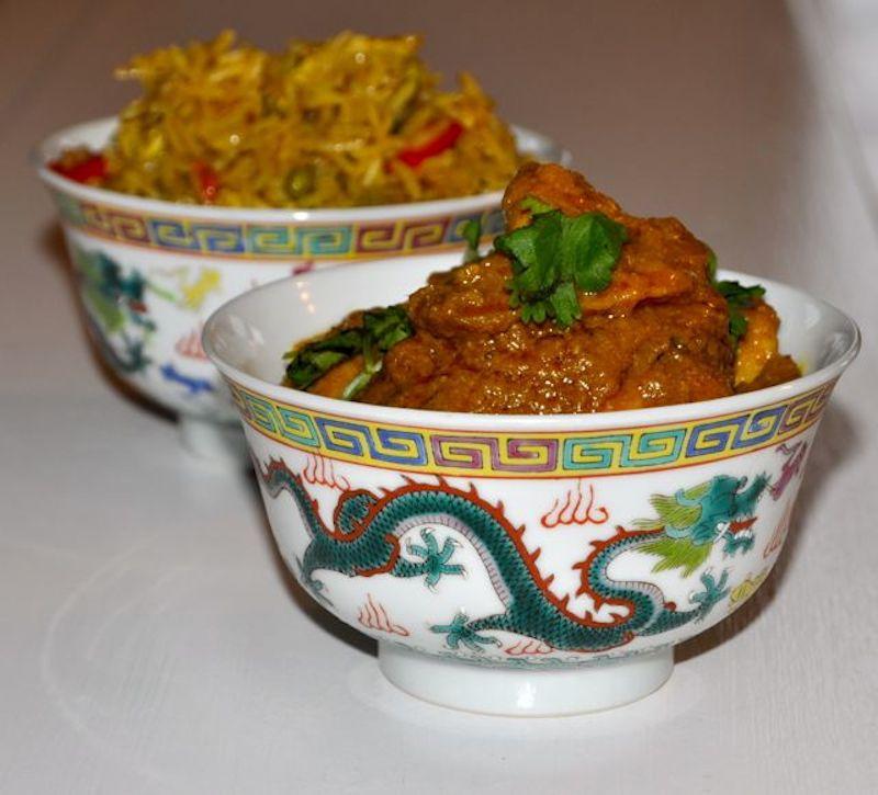 Nyonya Chicken Curry