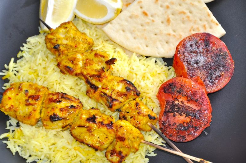 Saffron Chicken Tikka With Black Pepper