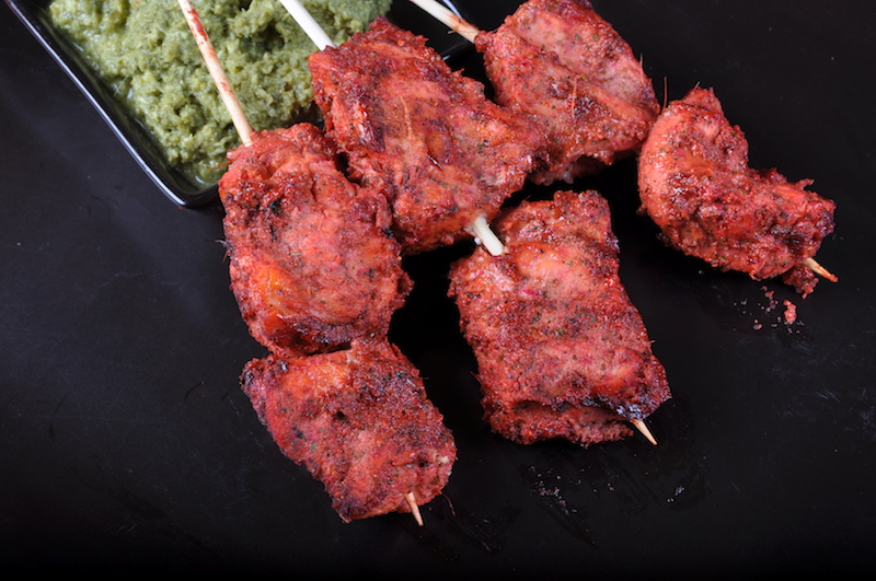 Tandoori Coconut Chicken