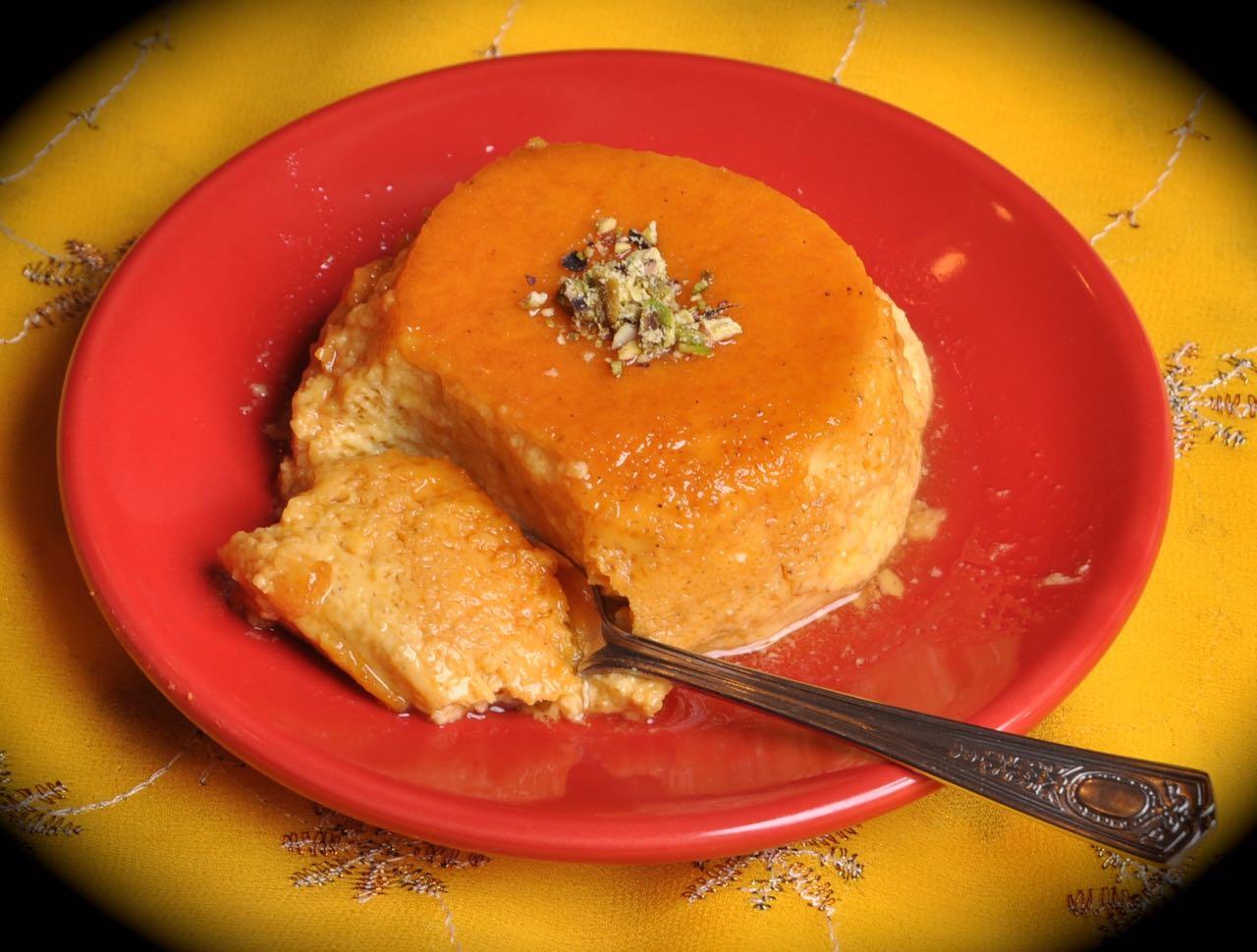 Mango Crème Caramel