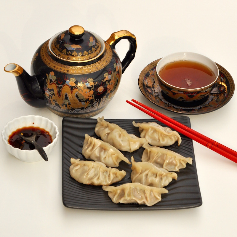 Hakka Chicken And Lamb Dumplings