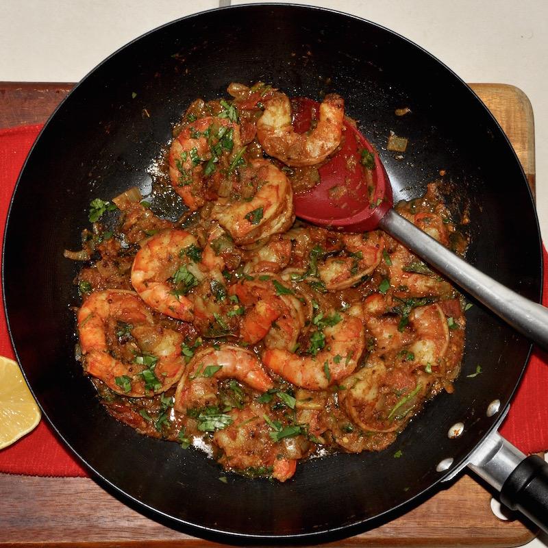 Tomato Shrimp Masala