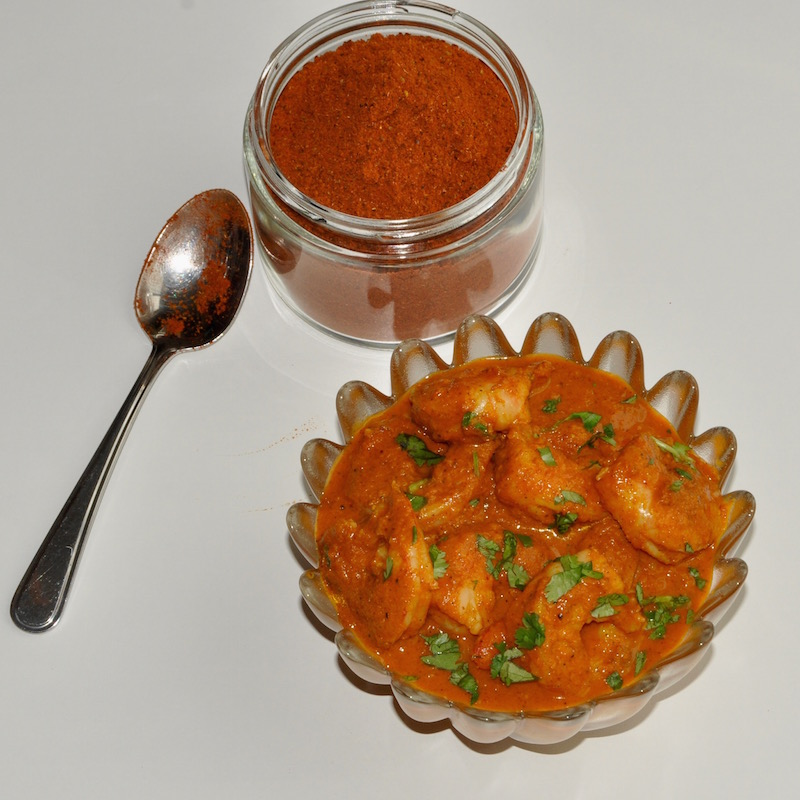 East Indian Prawn Curry