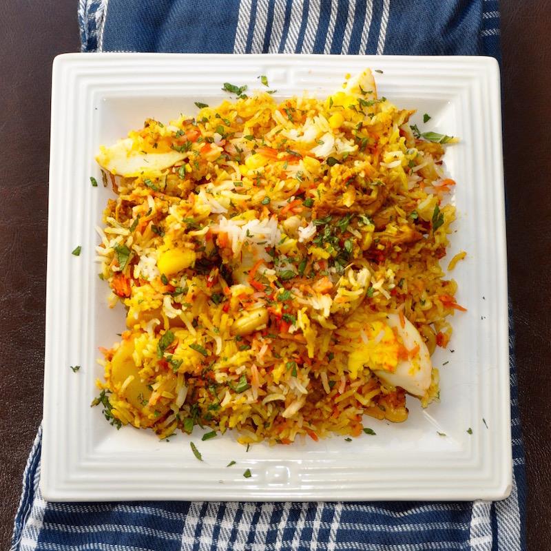 Nasi Chicken Biryani
