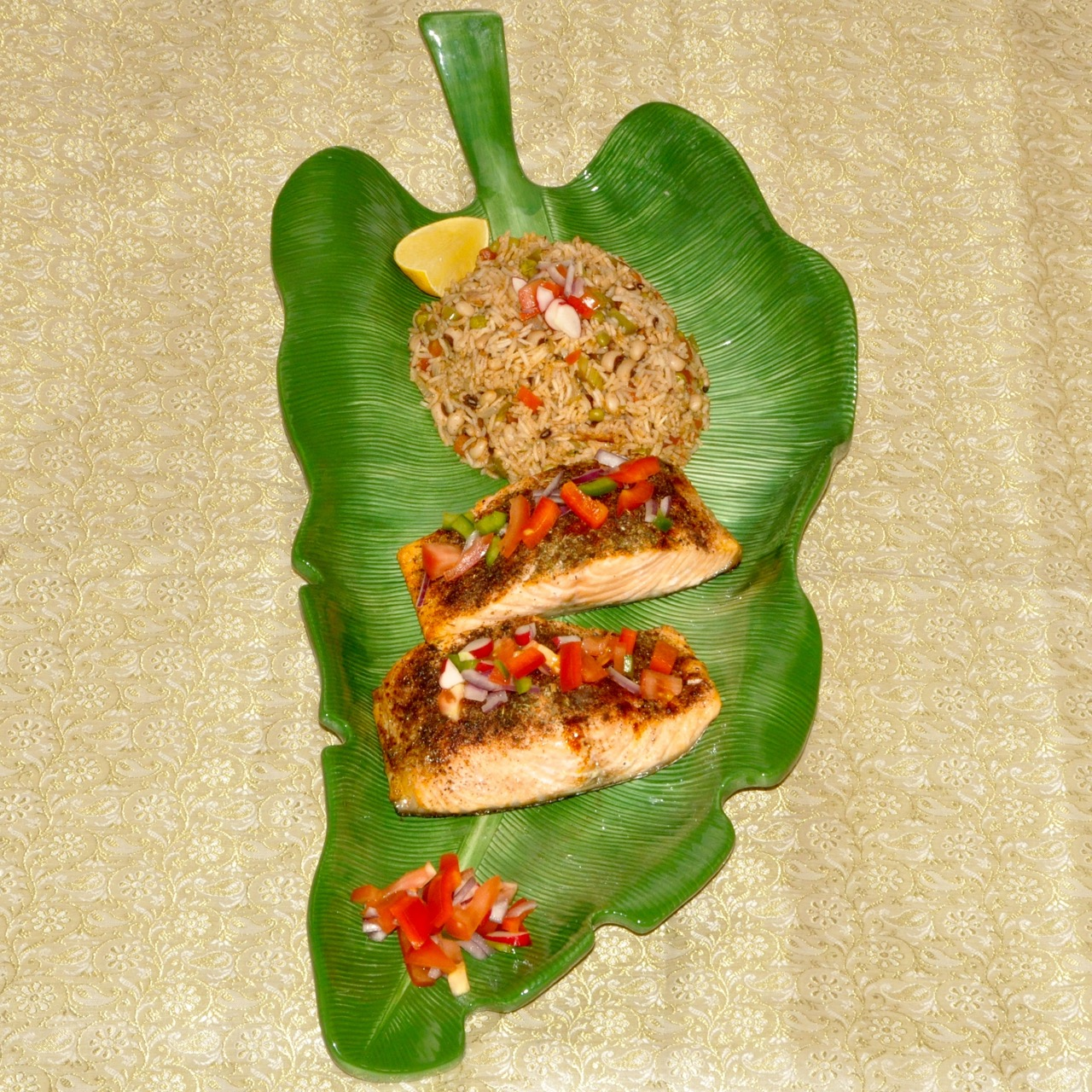 Spiced Grilled Fish