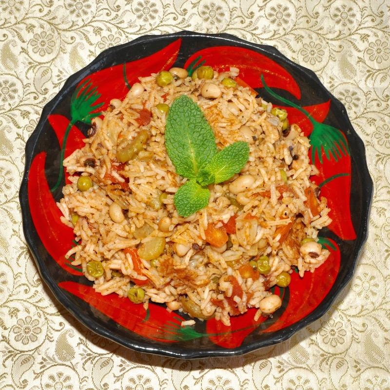 Peas n Rice, Bermuda Style