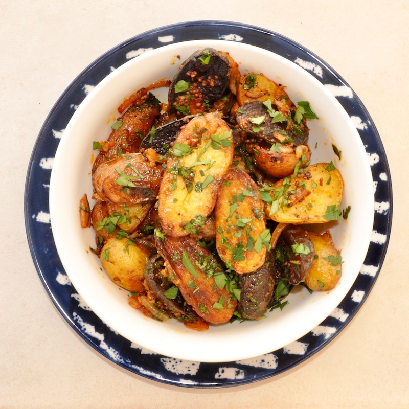 German Style Roast Potatoes