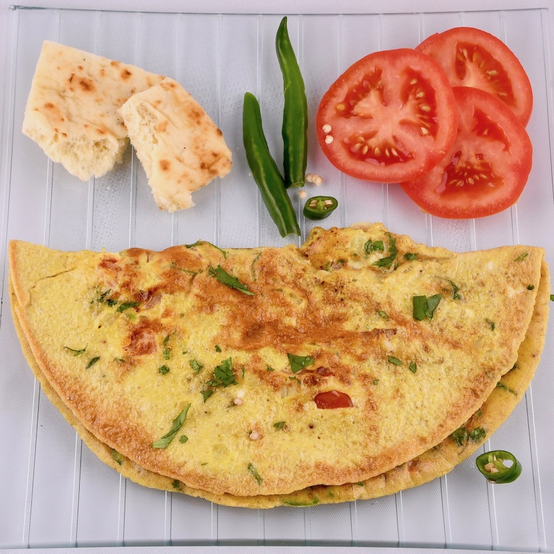 Masala Omelette