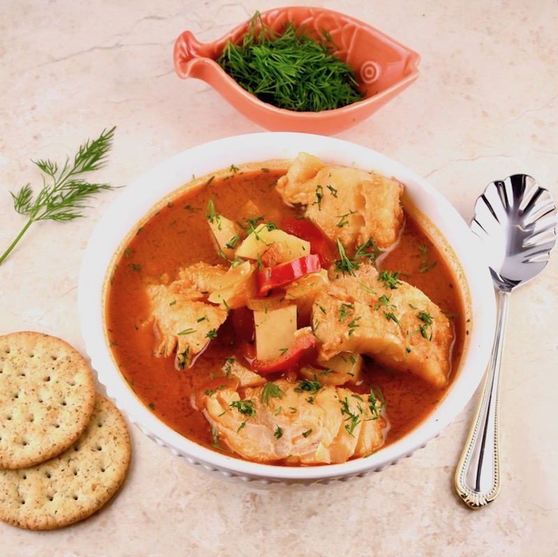 Hungarian Fisherman's Soup