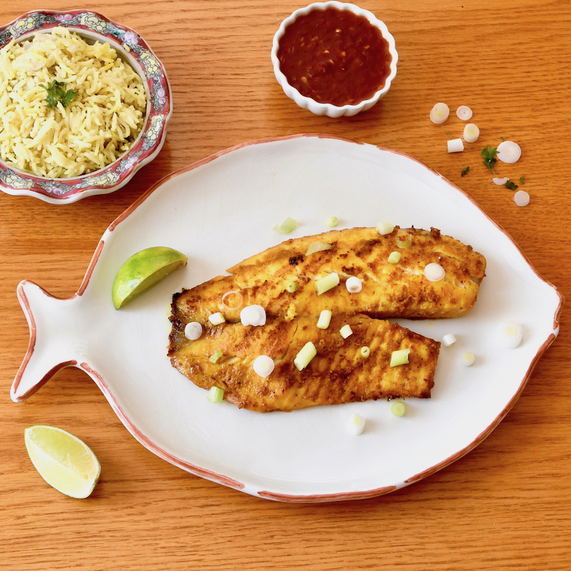 Sambal Grilled Fish
