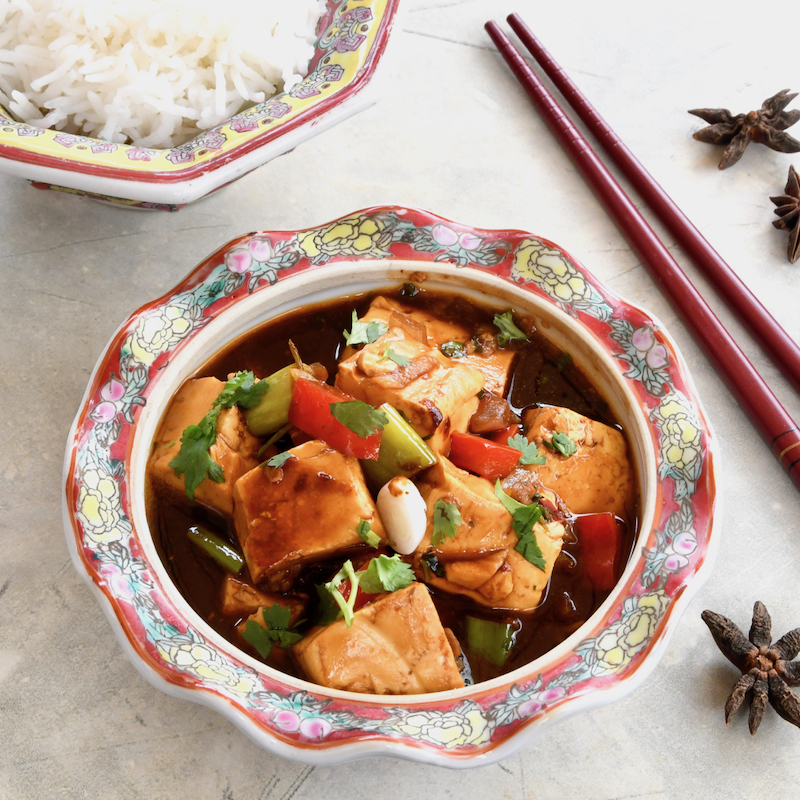 Mapo Tofu (No Meat)