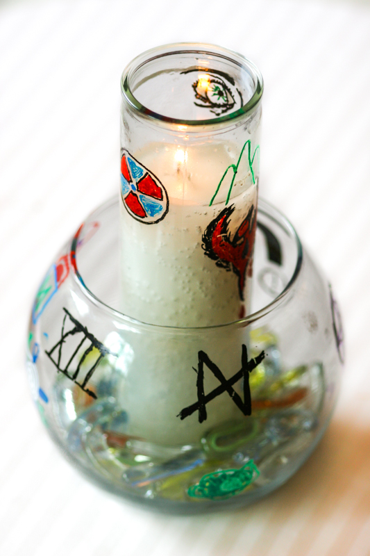 A chalice made in a kids' religious class