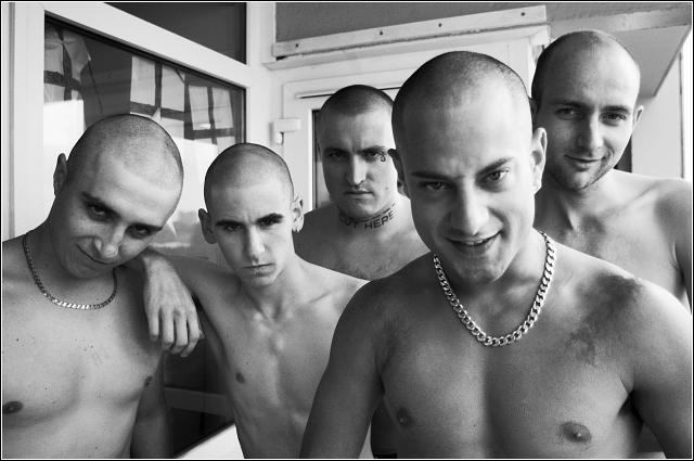 if you want a group to join who look mean and tough and like to bully and menace people they don't like, then the skinhead life may be for you - or the police...the UberHund is on his own personal journey, and needs no self affirmation by oppressing or suppressing others