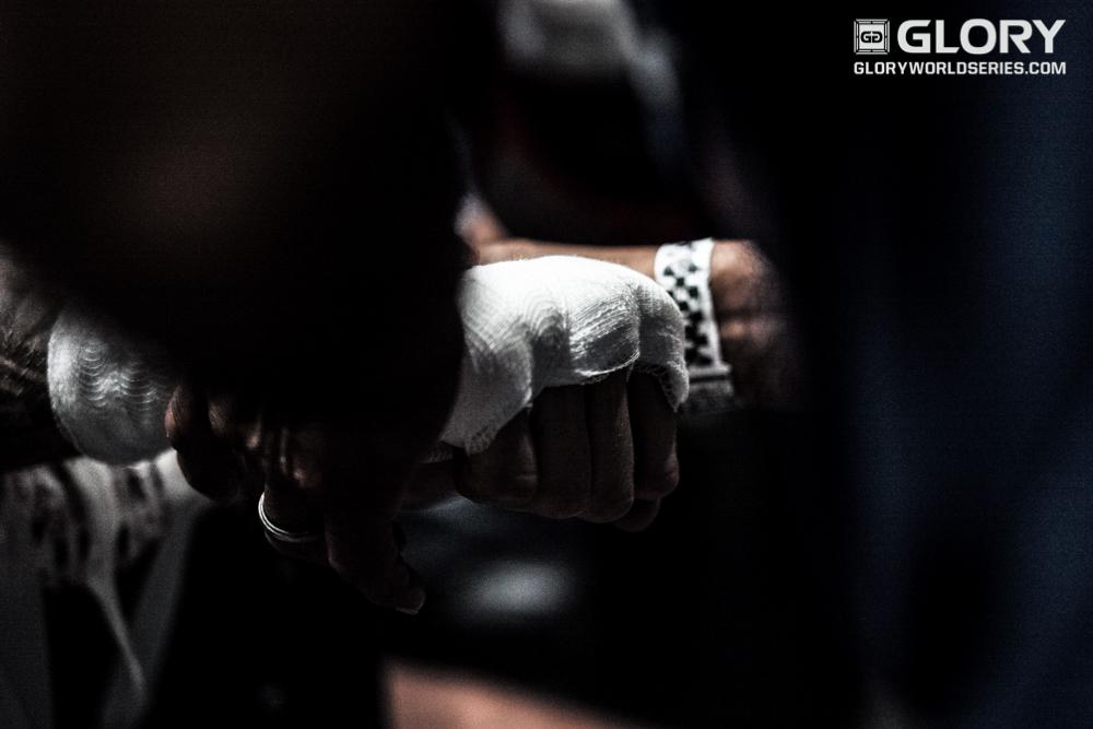 The fist of Joe Schilling.